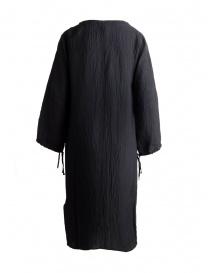 Abito Sara Lanzi a tunica nero con lacci