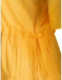 Sara Lanzi pleated long yellow dress price