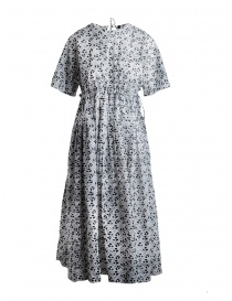 Sara Lanzi dress with black and white floral pattern online
