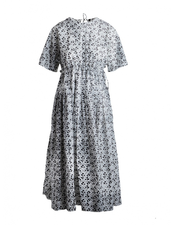 Sara Lanzi black and white floral dress SL SS19 01E.CO3.19 PR.MULBERRY womens dresses online shopping