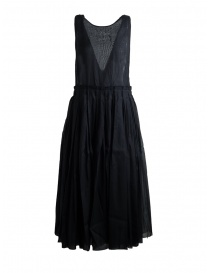 Sara Lanzi Sleeveless Black Midi Dress SL SS19 01G.CS1.09 BLACK order online