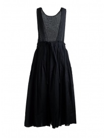 Sara Lanzi Sleeveless Black Midi Dress
