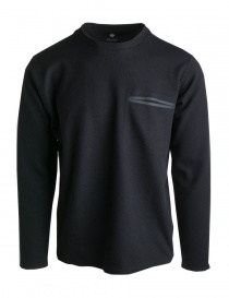 Mens knitwear online: Descente Pause black pullover