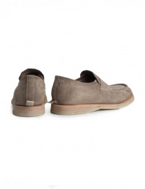 Shoto Melody Dive beige suede mocassin