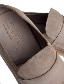 Mocassino Shoto Melody Dive scamosciato beige calzature uomo acquista online