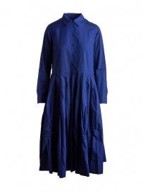 Abito lungo Casey Casey blu elettrico 12FR241 BLUE order online