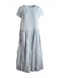 Casey Casey light blue and black striped dress online