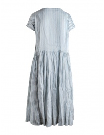 Casey Casey light blue and black striped dress