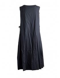 Casey Casey sleeveless black cotton dress price