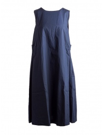 Casey Casey cotton navy blue sleeveless dress online