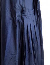 Abito Casey Casey smanicato cotone blu navy abiti donna acquista online