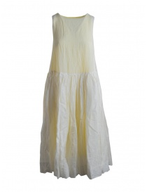 Abito Casey Casey smanicato giallo limone 12FR263-LEMON order online