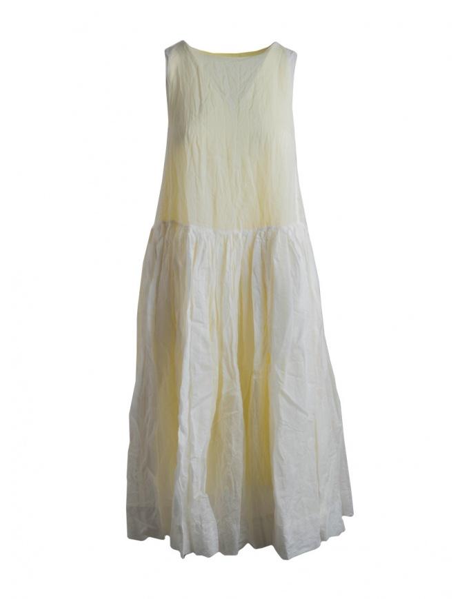 Casey Casey sleeveless lemon yellow dress 12FR263-LEMON womens dresses online shopping