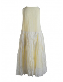 Casey Casey sleeveless lemon yellow dress
