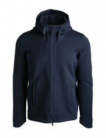 AllTerrain By Descente Synchknit blue jacket DAMNGL10-NVGR