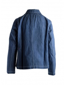 Casey Casey indigo linen shirt jacket