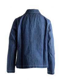 Casey Casey linen indigo shirt jacket