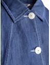 Giacca camicia Casey Casey lino indaco 12FV124 INDIGO prezzo