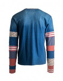 T-shirt Kapital USA a stelle e strisce manica lunga