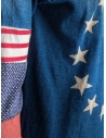 T-shirt Kapital USA a stelle e strisce manica lunga K1502LC153 RED prezzo
