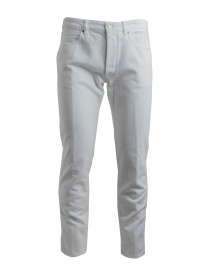 Golden Goose deluxe white pants G34MP512.A3 WHITE DESTROYED order online