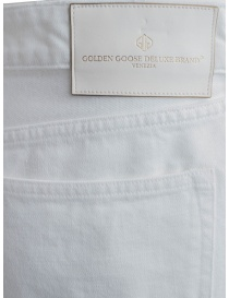 Pantaloni bianchi Golden Goose deluxe pantaloni uomo acquista online