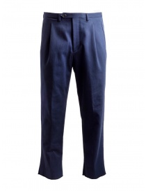 Pantaloni chino Golden Goose blu navy G34MP515.A1 NAVY WASHED order online