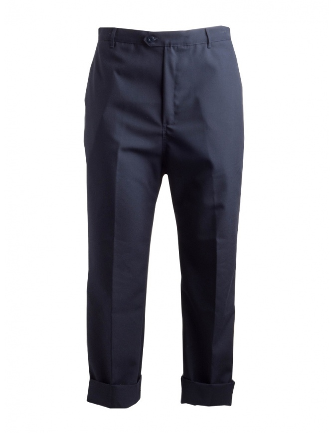 Pantaloni Camo Air Collection blu navy AE0077-NAVY pantaloni uomo online shopping