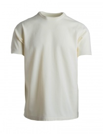 Mens t shirts online: AllTerrain By Descente white sports T-shirt