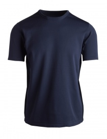 Mens t shirts online: AllTerrain By Descente navy sports T-shirt