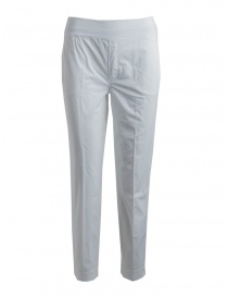 Womens trousers online: European Culture women's white trousers
