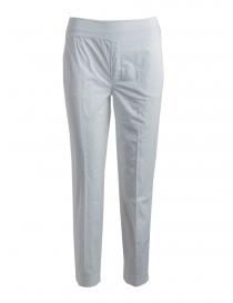 Pantaloni donna European Culture bianchi online