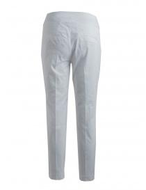 Pantaloni donna European Culture bianchi