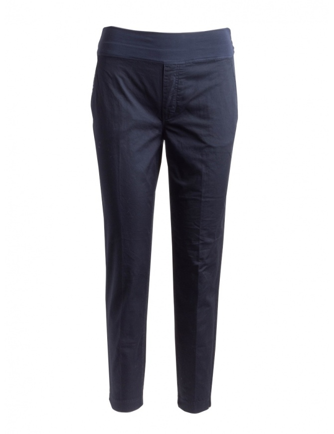 European Culture women's blue trousers 065U 3822 1508 womens trousers online shopping