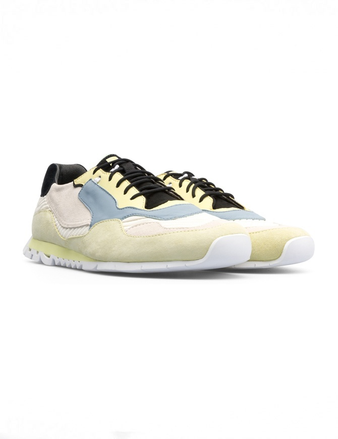 Camper Nothing yellow/light blue sneakers (man) K100436-001 NOTHING MULTICOLOR mens shoes online shopping