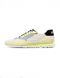 Camper Nothing yellow/light blue sneakers (man)