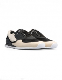 Womens shoes online: Camper Nothing Beige/grey sneakers (woman)