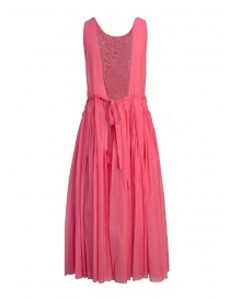 Sara Lanzi sleeveless fuchsia midi dress buy online