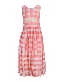 Vestito Sara Lanzi con quadrati rosa SL SS19 01G.CS1.146 VICHY order online