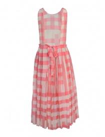 Sara Lanzi dress with pink squares