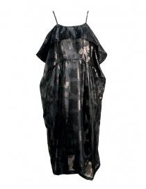 Abiti donna online: Abito Miyao nero trasparente con spalline