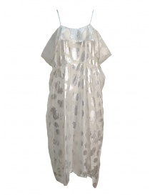 Miyao transparent white dress with shoulder straps online
