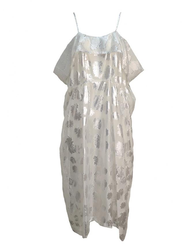 Abito Miyao bianco trasparente con spalline MQ-O-05 WHITE abiti donna online shopping