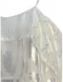 Miyao transparent white dress with shoulder straps price