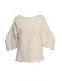 Maglia European Culture in felpa colore bianco 4770 2425 0100 order online