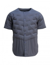 Allterrain By Descente navy quilted shirt DAMNGC44-NVSL