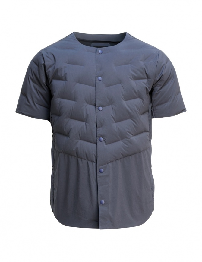 Allterrain By Descente navy quilted shirt DAMNGC44-NVSL mens shirts online shopping