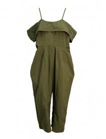 Womens trousers online: Miyao khaki salopette
