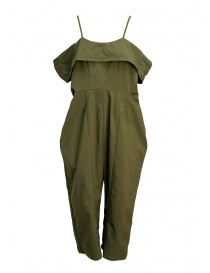 Salopette Miyao color khaki online