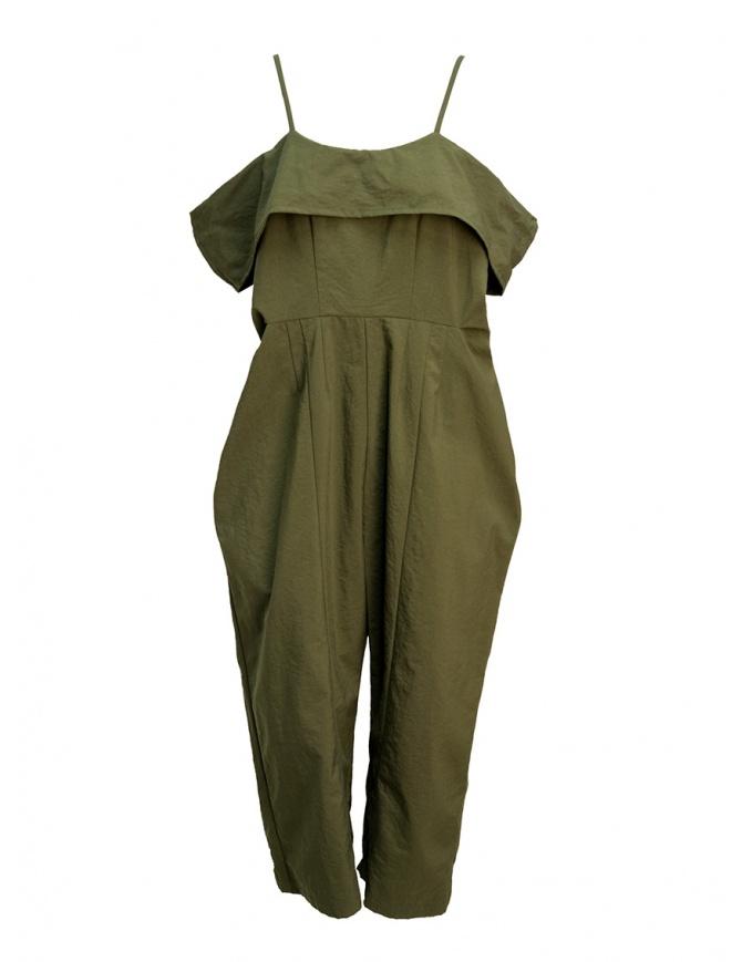 Salopette Miyao color khaki MQ-A-01 KHAKI pantaloni donna online shopping